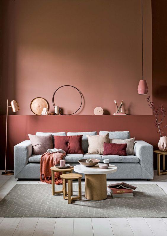 La couleur terracotta, tendance de l'automne 2017