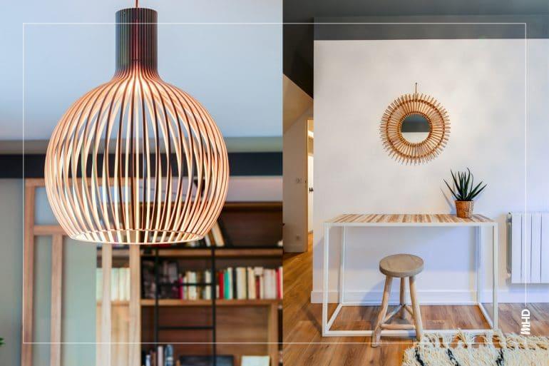 Des luminaires modernes, un agencement optimisé tout en conservant l'authenticité de cette belle maison: une mission réussie pour myHomeDesign.