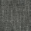 Tissu noir et blanc