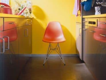 chaise dsw orange