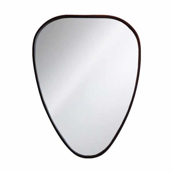 Miroir kokot bois noyer