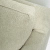 zoom fauteuil blanc 2 places riviera