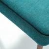 Zoom fauteuil ayo bleu