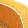 Zoom tissus fauteuil jaune