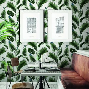 Papier peint paper mint jungle_jungle_ambiance_blanccraie_2