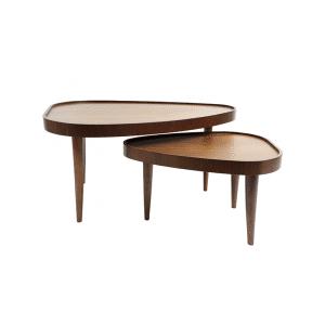 Tables basses kokot bois