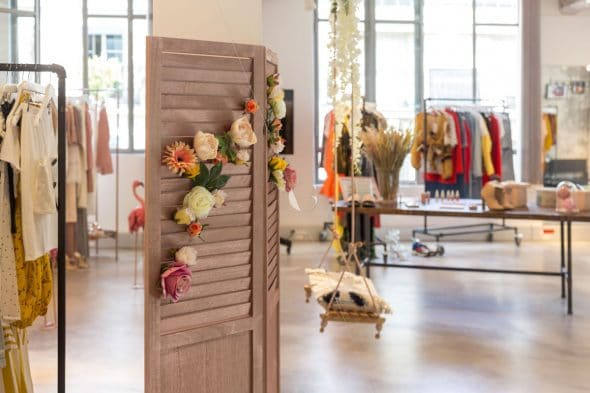 Showroom parisien Boohoo par Atelier Germain