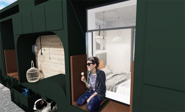 Appartement-témoin-dans-10-ans-Atelier-Germain-_-balcon-aménagé-_-espace-dédié-aux-animaux