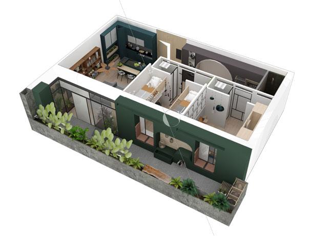 Appartement-témoin-dans-10-ans-Atelier-Germain-_-vue-axonométrique