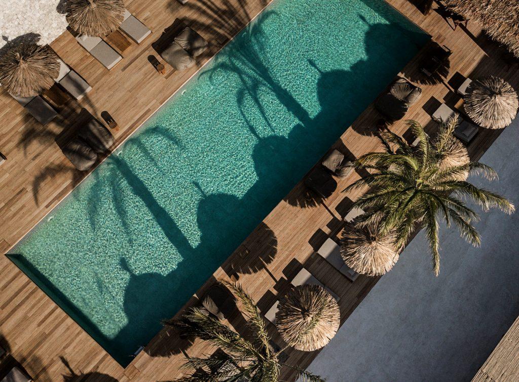Décoration bohème grece hôtel
