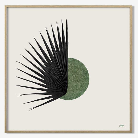 Herbier tropical Eclipse - Guillaume Delvigne x Atelier Germain