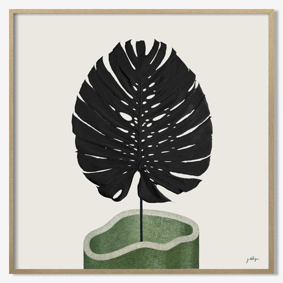 Herbier tropical Méandre - Guillaume Delvigne x Atelier Germain
