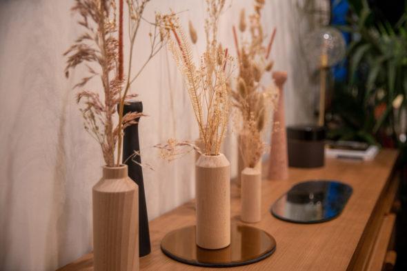AnSo Design - Soliflores fabriqués en France avec un bois brut non-traité, tournés dans une tournerie française