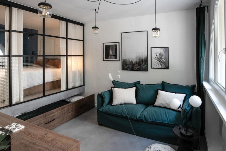 BER23-chambre-avec-verrière-5-couchages-lit-sur-estrade-lit-1-place-sous-estrade