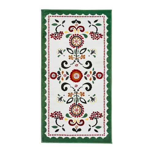 Tendance déco l'imprimé suzani tapis akerkulla ikéa