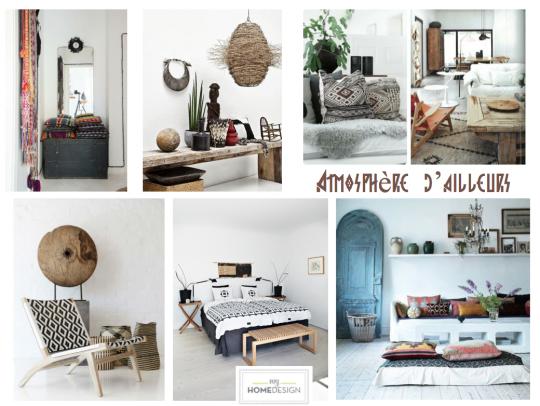 Get the look: Atmosphère d'ailleurs