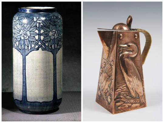 Histoire du design : mouvement Arts & Crafts