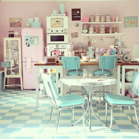 Beautiful Decoration De Cuisine 2015 En Rose Pictures - House Design ...