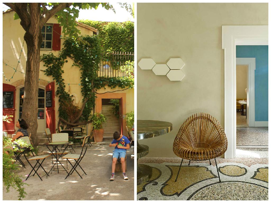 Visite Déco Hôtel Du Cloître à Arles Atelier Germain