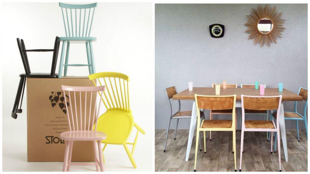 chaises dépareillées C2 - MHD