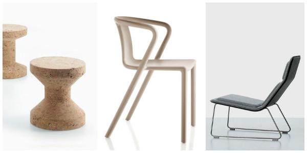 Cork Family, Air Armchair, Low Pad Chair Jasper Morison