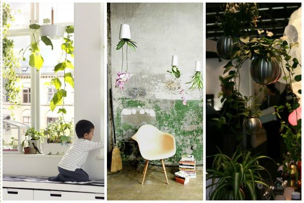 Plantes suspendues, Ikea, Boskke, Pa Design