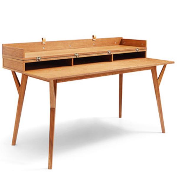 bureau design scandinave convertible en table emme collection bâle