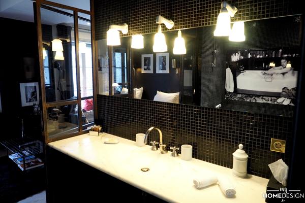 Salle de bain - suite Chapeaux