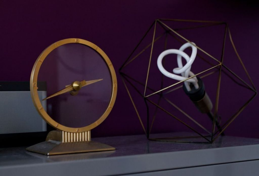 horloge et suspension design