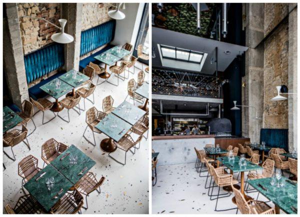 Restaurant Daroco dans la galerie Vivienne