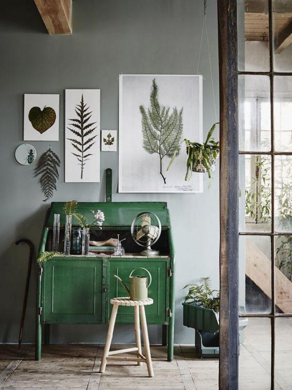 Du Vert Profond Dans Ma Déco Atelier Germain