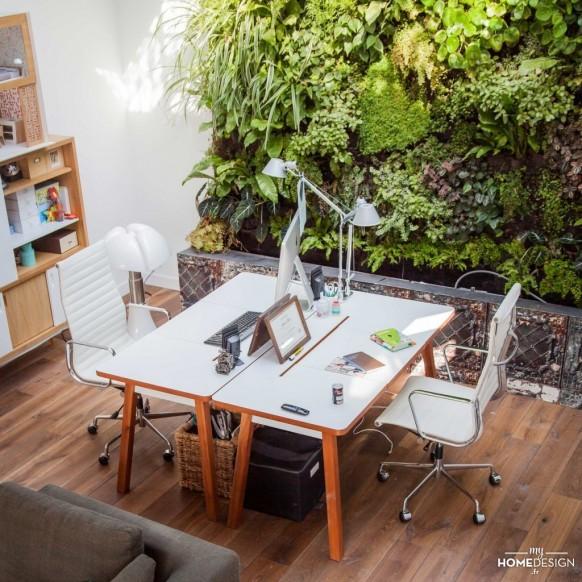 Un bureau feng shui pour la rentr e atelier germain - Couleur bureau feng shui ...